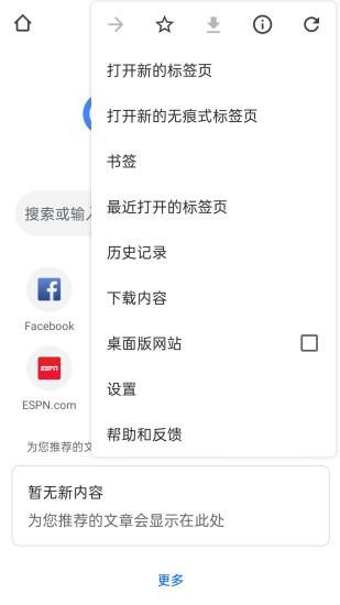 谷歌浏览器手机版截图2